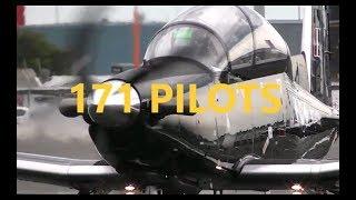RNZAF 171 Pilots Wings Course Graduation