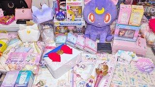 Unboxing Sailor Moon Toys: Universal Studio Japan, Ichiban Kuji Lottery, Funko POP Figures 2018