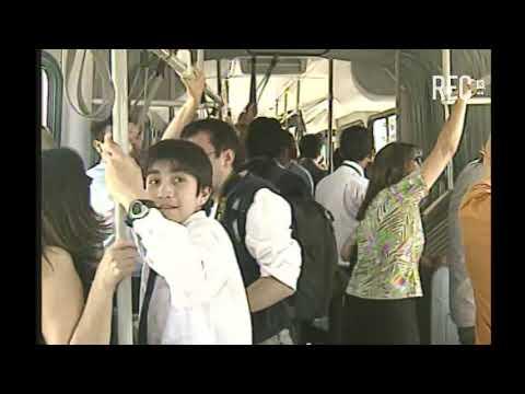 Inauguración Línea 4 Metro Santiago (nota prensa Canal 13)