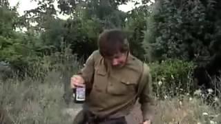 Русский солдат против немцев
