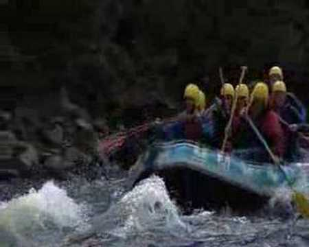 Charity Rafting event with Splash Whitewater