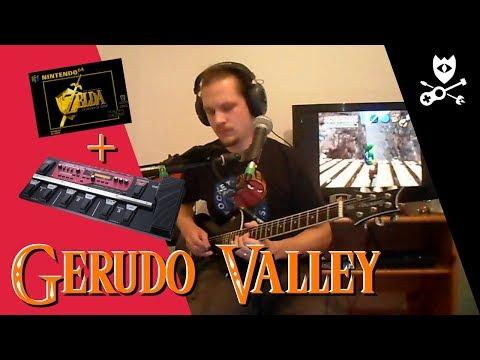 Gerudo Valley (Live Loop Cover) - The Legend Of Zelda: Ocarina Of Time