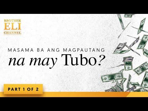 Masama ba ang magpautang na may tubo? (Part 1 of 2)   Brother Eli Channel