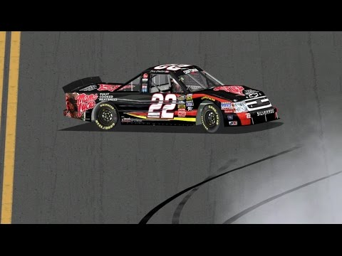 2012 Nextera Energy Resources 250 Joey Coulter Crash | NR2003 Reenactment