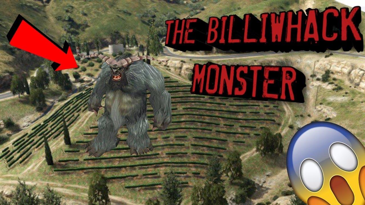 Billiwhack Monster Found On Gta  Secret Hidden Monster Found