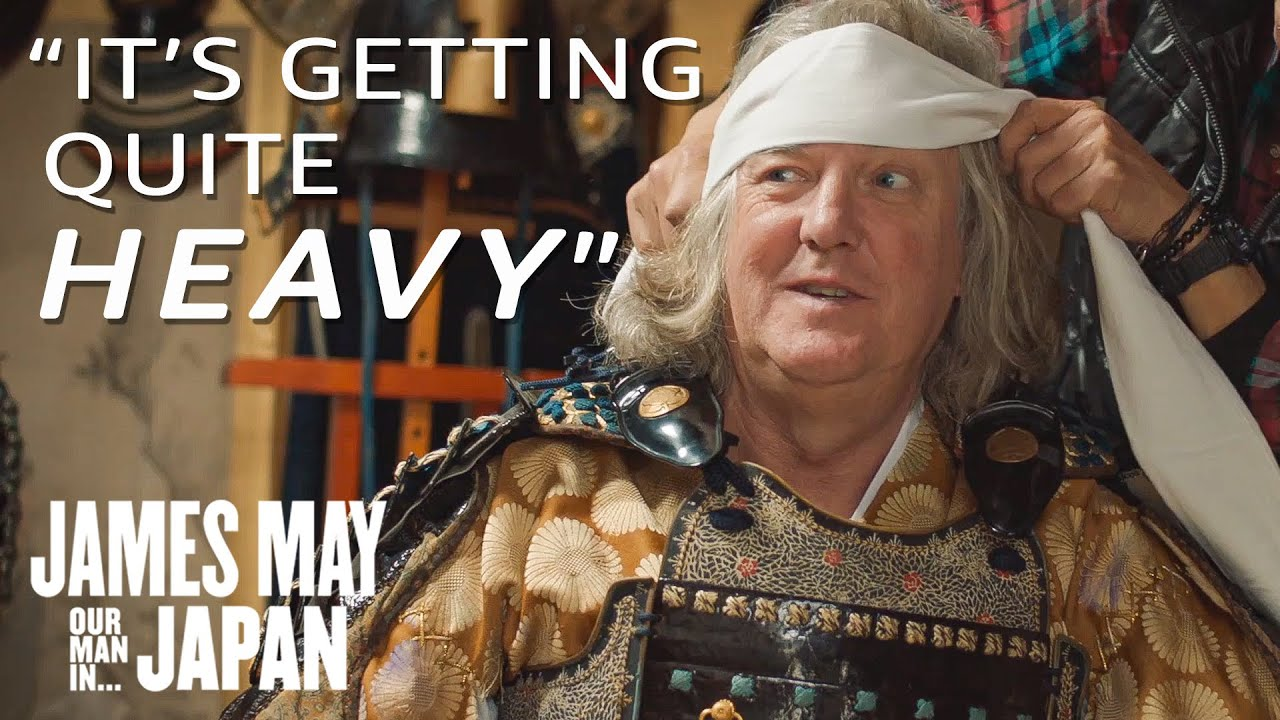 James May Becomes a Samurai Warrior | James May: Our Man in Japan