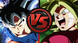 GOKU ( ULTRA INSTINTO) VS KEFLA RAP (2017) | DRAGON BALL SUPER | Doblecero
