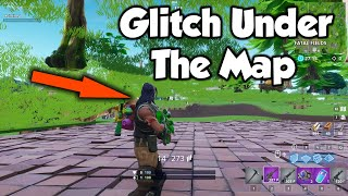 How To GLITCH Under The Map In Fortnite (NEW/NOT PATCHED) Season 7