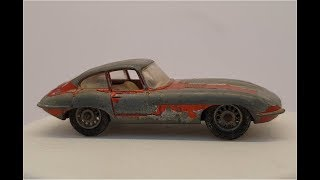 MATCHBOX Restoration No 32b E Type Jaguar 1962