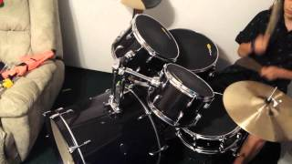 How to play korn coming undone drum cover!