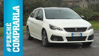 Peugeot 308 SW (2017) | Perché comprarla... e perché no