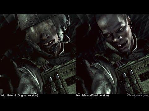 HD Resident Evil 5 : BSAA Pilot's Face !!