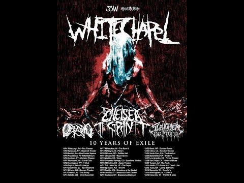 *Tour Alert* WHITECHAPEL w/ Chelsea Grin, Oceano, Slaughter To Prevail tour 2018..!