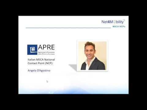 Download COFUND 2020 Webinar by Angelo d'Agostino (APRE) for Net4Mobility+