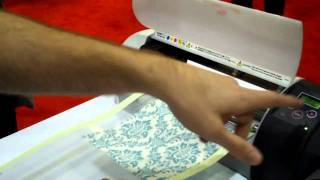 Silhouette Cutting Fabric Demo