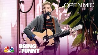 Musical Storyteller Kristin Key Performs in the Open Mic Round - Bring The Funny (Open Mic)