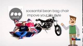 soosantai bean bag chair