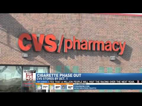 CVS Cigarette Phase-Out Hits Stores Next Week