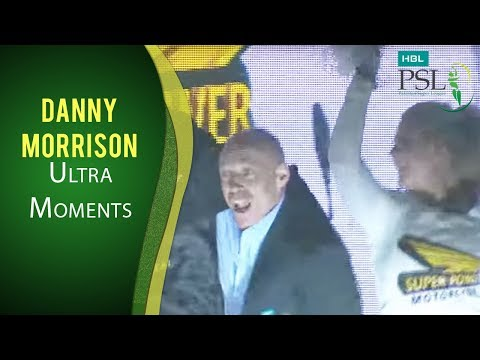 PSL 2017 Match 13: Danny Morrison Dancing with Cheerleaders - Ultra Motion Moments thumbnail