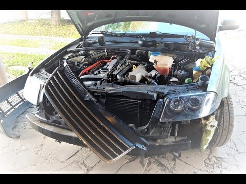 Чистка интеркулера VW Passat b5, AUDI, SKODA