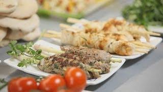 Люля-кебаб из мяса и шашлык из куриного филе. Рецепты Уриэля Штерна