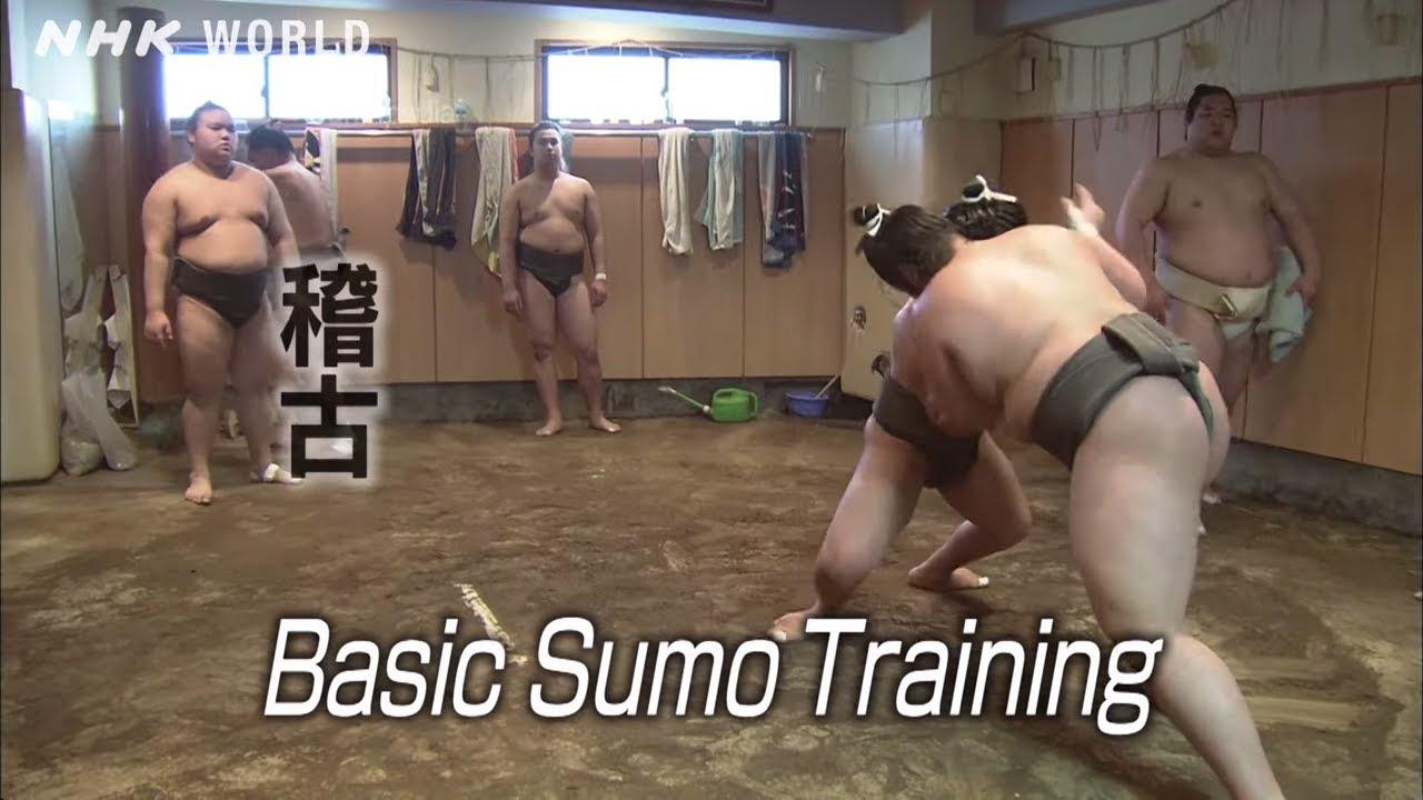 Photo of Basic Sumo Training [稽古] – SUMOPEDIA – video