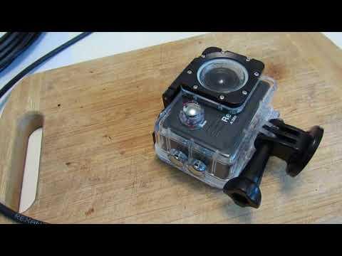 как сделать Wifi Антену для экшн камеры (подводная съемка)