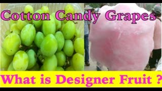 Danger of Cotton Candy Grapes