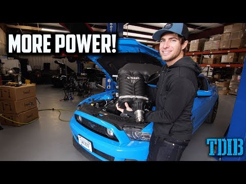 Putting a MASSIVE Supercharger on My Mustang GT!