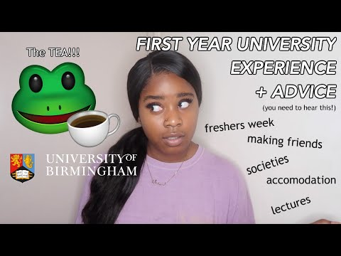 So you're coming to the University of Birmingham? | FIRST YEAR UNIVERSITY EXPERIENCE + ADVICE!