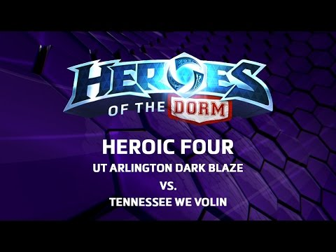 Heroes of the Dorm 2016 - Heroic Four Match 1 - UTA vs Tennessee