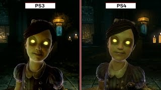 Bioshock: The Collection Graphics Comparison (PS3 vs. PS4)