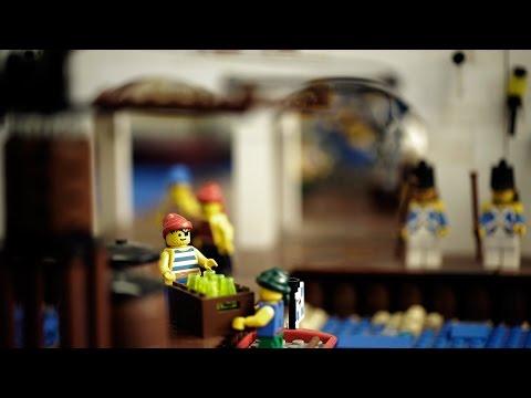 Encontro reune fãs de Lego em São Paulo