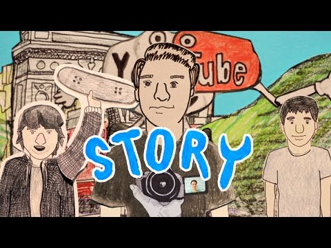 My 10 Year YouTube Story (Animation) – Josh Katz