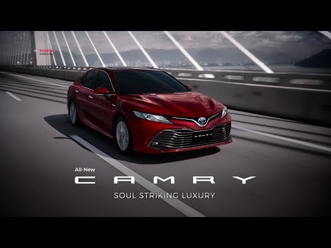 All New Camry 2018 Thailand Toyota Yaris Trd Exhaust Soul Striking Luxury Youtube Allnewcamry Tnga