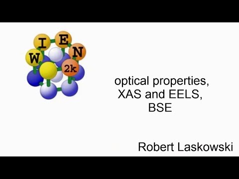 WIEN2k workshop : optical properties, XAS and EELS, BSE