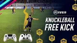 FIFA 19 | Knuckleball Free Kick Tutorial