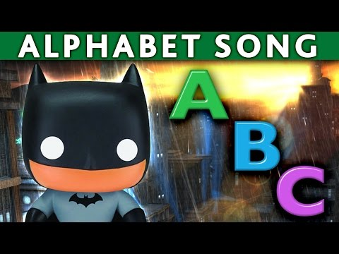 BATMAN ROBIN JOKER ABC Song Alphabet Song ABC Nursery Rhymes ABC Song for Children