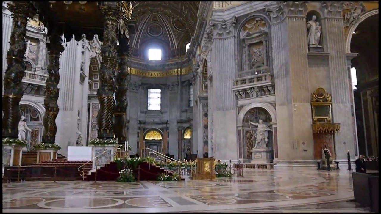 Rome la basilique saint pierre youtube for Exterieur basilique saint pierre