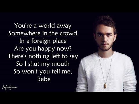 Happy Now - Zedd, Elley Duhé (Lyrics) 🎵
