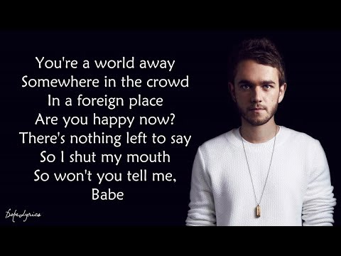 Happy Now - Zedd, Elley Duhé (Lyrics) 🎵