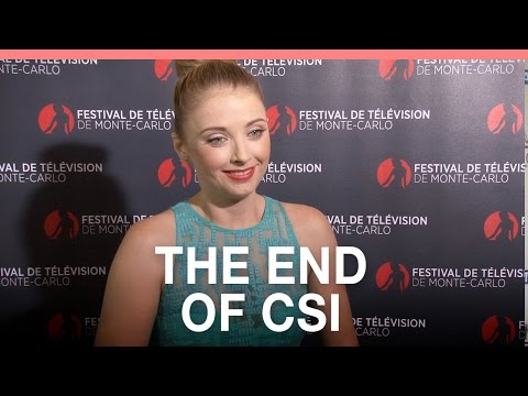 Elisabeth Harnois on the end of CSI