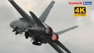 Spanish Air Force EF-18AM HORNET at RIAT 2017 [*UltraHD and 4K*]