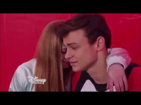 Sean and Skye kiss  The Lodge