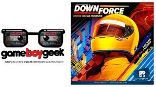 Downforce: Danger Circuit Review with the Game Boy Geek