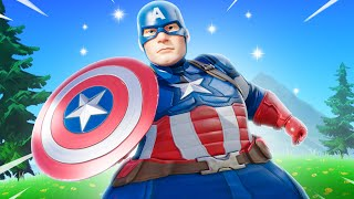 THE THICCEST CAPTAIN AMERICA IN FORTNITE
