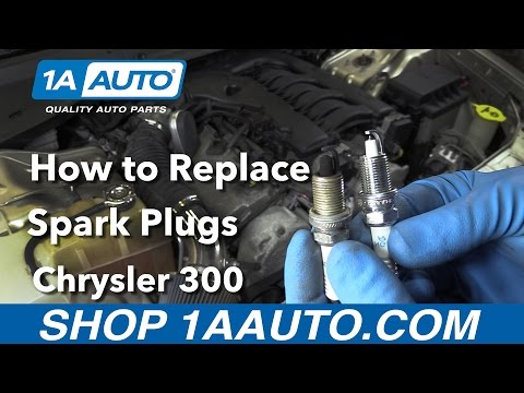 How to Replace Install Spark Plugs 2006 Chrysler 300 Buy Quality Parts at 1AAuto.com