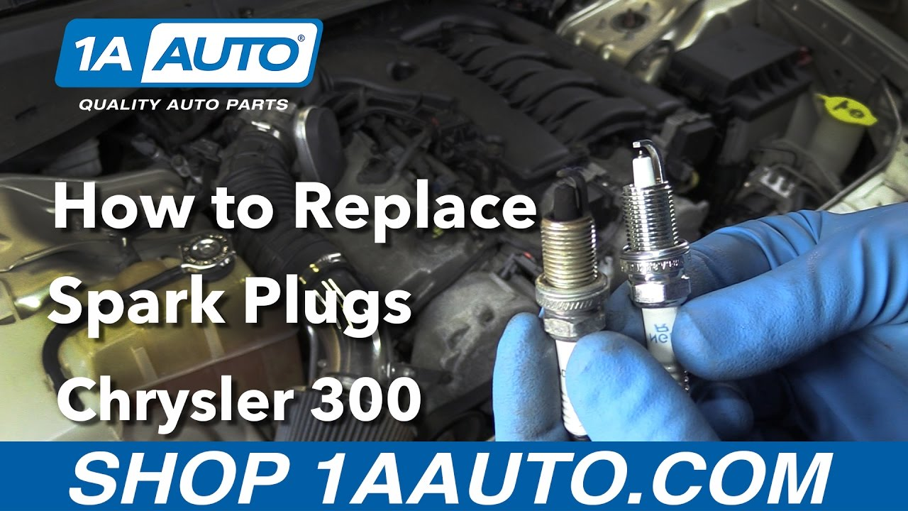 hight resolution of how to replace spark plugs 05 08 chrysler 300