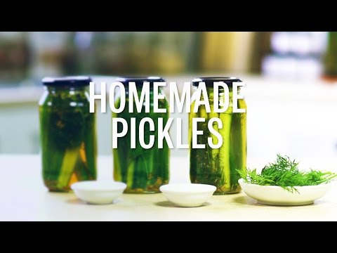 How To Make Simple Dill Pickles With Apple Cider Vinegar - Green Press