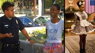 Video Racist police? LAPD cops stop black actress Daniele Watts for kissing white boyfriend download MP3, 3GP, MP4, WEBM, AVI, FLV Oktober 2017